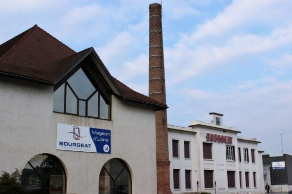 Bourgeat siège historique aux Abrets-en-Dauphiné